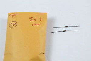 Resistor Leaded 5 6k Ohm 5 Pack Of 230