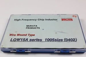Murata Lqw15a High Frequency Chip Inductors 1005 Size 0402 Kit