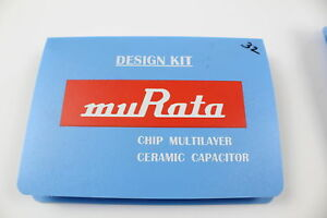 Murata Grm615kit Chip Multilayer Ceramic Capacitor Design Kit