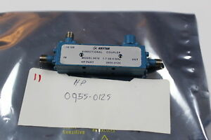 Agilent 0955 0125 Directional Coupler 1 7 26ghz 16db Krytar Model 2616