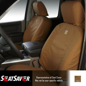 Seat Covers Sewn With Carhartt Fabric Ssc3459cabn Fits Titan 2018 2017 more