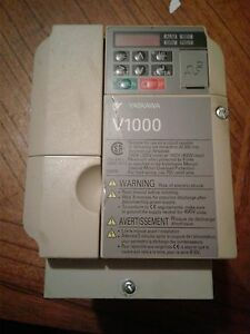 Yaskawa V1000 Used In Working Condition