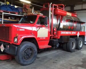 Gmc Vac Truck With 3000 Gallon Stainless Steel Tank