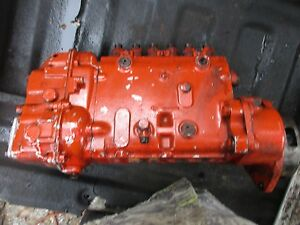 1963 Case 930 Diesel Tractor Bosch Fuel Injection Pump Free Shipping