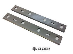 6 Inch Jointer Blades Knives For Porter Cable Bench Model Pc160jt Set Of 2