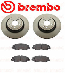 Brembo Front Brake Kit Lr4 10 16 Rover Sport Hse 5 0l Non Supercharge 10 13