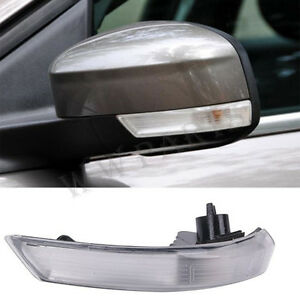 Left Wing Mirror Indicator Lens Turn Signal Light Cover For Ford Focus 2008 2016