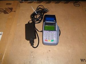Verifone Omni 3730 Le Vx510 Credit Card Terminal W Power Cord