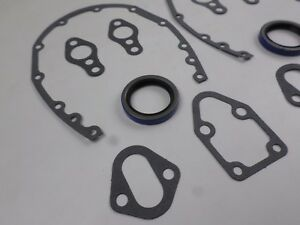 3 Timing Cover Gaskets Seals For Sbc Chevrolet 265 283 302 305 327 350 400