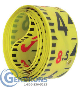 Replacement Tape 10 For Laserline Direct Elevation 10th Lenker Grade Rod