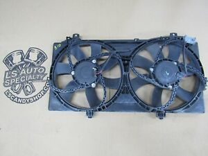 2010 2011 Camaro Ss Oem Electric Dual Cooling Fan Factory B10