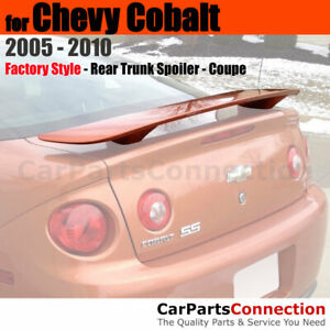 Painted Trunk Spoiler For 05 10 Chevrolet Cobalt 2dr Coupe Wa8624 Polar White