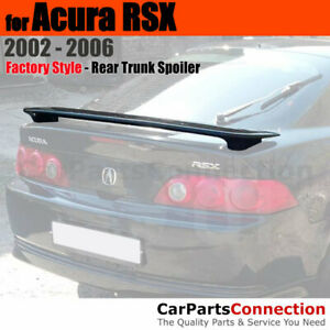 Painted Trunk Spoiler For 02 06 Acura Rsx Clearcoat Nh700m Alabaster Silver Met