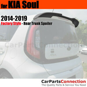 Painted Abs Rear Trunk Spoiler For 14 Kia Soul Flush Mount Im Titanium
