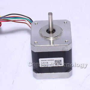 New Leadshine 42hs03 Nema 17 2 Phase Stepper Motor 1 8 Degree 67 Oz in 8 Leads