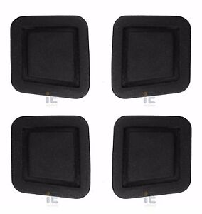 4x Keyless Door Handle Button Cover Kit Mercedes Driver Passenger Left Right