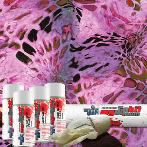 Hydro Dipping Water Transfer Printing Hydrographic Dip Kit Prym1 Pink Out Rc419