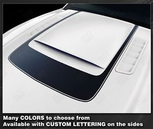 Ford Mustang 2013 2014 Accent Decal Stripe Around Hood Scoop Rsh8 Choose Color