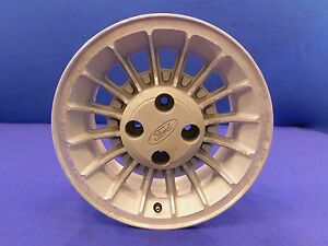 87 88 89 90 91 92 93 Mustang 15x7 Turbine Oem Wheel With Center Cap Nice Used 5