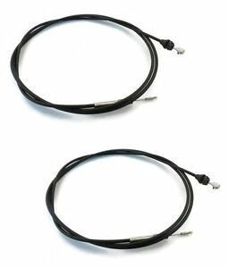 New Snow Plow Western Joystick Cables Control Raise Lower Angle Cables 2 Pcs