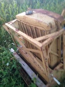 Antique Caterpillar Radiator