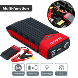 Suaoki 12v Car Jump Starter Booster Portable Battery Charger Power Bank Pack Usa
