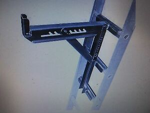 Metal Tech 3 Rung Aluminum Ladder Jacks E lj30p