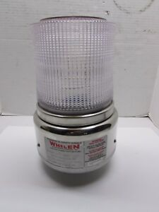 Whelen Strobe Ii Model 1200 clear Lense