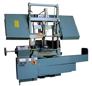 Wf Wells 16 X 18 Cnc Automatic Twin post Horizontal Band Saw new F 16 1a cn