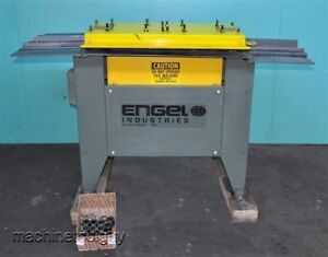 Engel Hb 825 Slip Drive Rollformer With Pittsburgh Combination 3 in 1 Rolls
