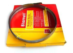 Starrett Welded Wood Cutting Band Saw Blade New
