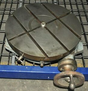 Troyke 18 Precision Horizontal Rotary Table Model R 18