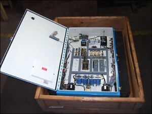 Hoffman J1754 Control Box With Installed Electric Components