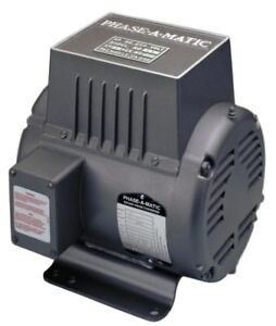 Phase a matic R 15 Rotary Phase Converter 15 Hp New