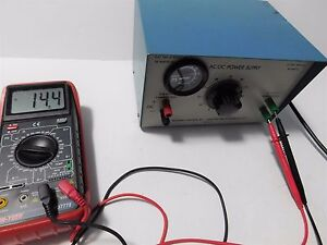 Sargent welch Scientific Co Ac dc Power Supply S 30972 60 Works