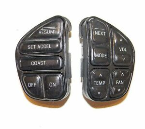 98 04 Cruise Control Switch Set Ford Expedition Explorer Lincoln Mercury Navigat