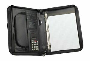 Briefcase 3 ring Binder Folder Portfolio Organizer Planner W Smart Handle