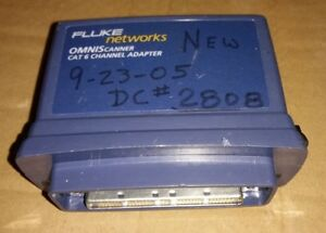 Fluke Networks 2950 4915 01 Omniscanner Cat 6 Channel Adapter