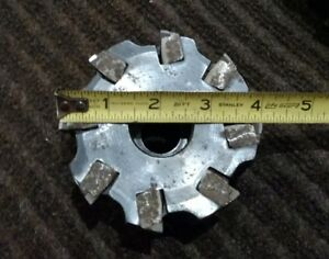 4 Iscar Indexable Face Mill F90 d100 4 1 50 1 50 Hub Diameter Free Shipping