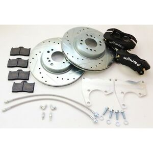 Datsun 240z 260z 280z New Rear Disc Brake 4 Piston Wilwood Complete Kit 69 78