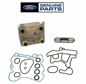 Genuine Ford Oem Oil Cooler For 03 07 6 0 Powerstroke F 250 F 350 F 450 F 550