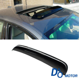 43 Smoke Sun Moon Roof Rain Guard Window Visor Deflector For Honda Acura Suzuki