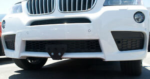 License Plate Bracket For 2010 2014 Bmw X3 M Sport removable Metal Take Off