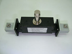 Wr112 Waveguide Attenuator 7 05 10ghz 0 30ddb With Adapters Vt84wva30ppc sma