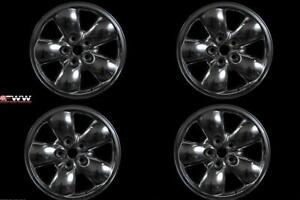 Dodge Ram 1500 20 2002 2003 2004 2005 Factory Oem Rim Wheel Set Of 4 Polished