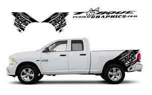 Ram On bed Graphics vinyl Decal Sets For Dodge Ram Vehicles Custom Graphics