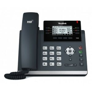 Yealink Sip t42s Ultra elegant Gigabit Ip Phone 2 7 Display Optima Hd Voice