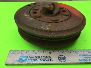 Studebaker Crankshaft Crank Jaw And Pulley 5 Item 8159