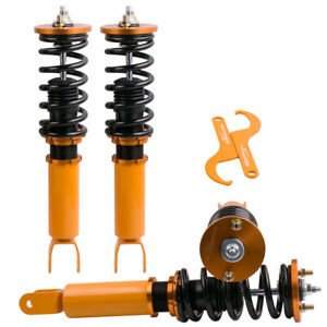 New Coilovers Fit Honda Accord 08 12 Acura Tsx 09 14 Suspension Kit Golden