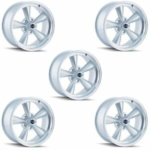 Ridler 675 5765s Set Of 5 Style 675 15x7 5x114 3mm 0 Offset Silver Rims